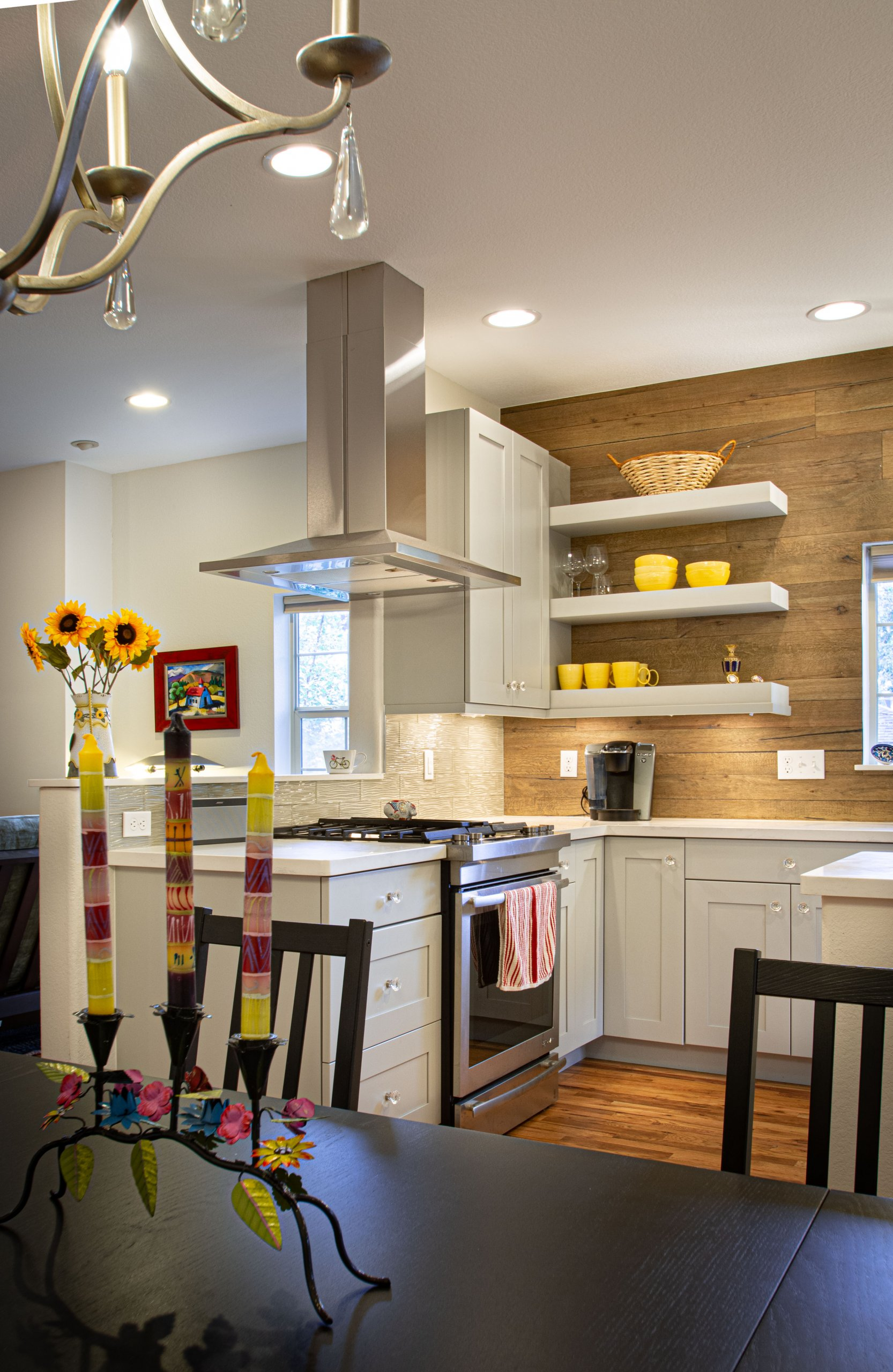 Contemporary French country kitchen remodel